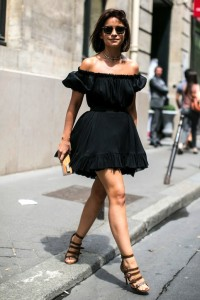 Miroslava-Duma-Off-The-Shoulder-Dress-Summer-Style-Via-Elle-Spain