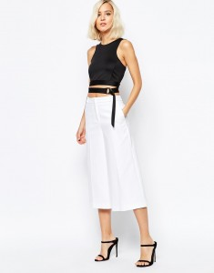 River Island Tailored Culottes - Asos