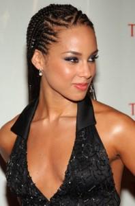 Alicia-Keys-cornrow-braided-hairstyle