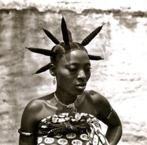 Fang woman from Gabon ©Michel Renaudeau