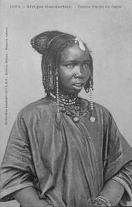 Fulani girl from Cayor. Senegal