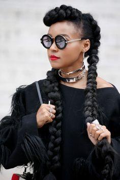 Certes les tresses africaines ,dont Kim Kardashian sest proclamé linventeur, tuto à lappui, est un des classiques de la coiffure africaine.