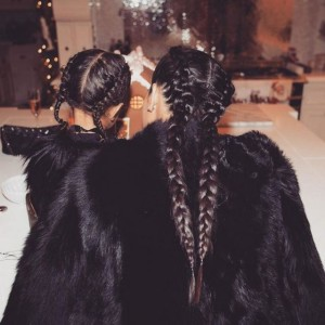 tresse-coiffure-cheveux-kim-kardashian-north